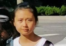 Chinese child abducted in USA